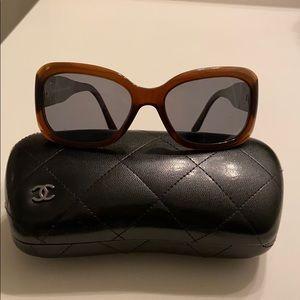 CHANEL sunglasses ( prescription lenses) w case.